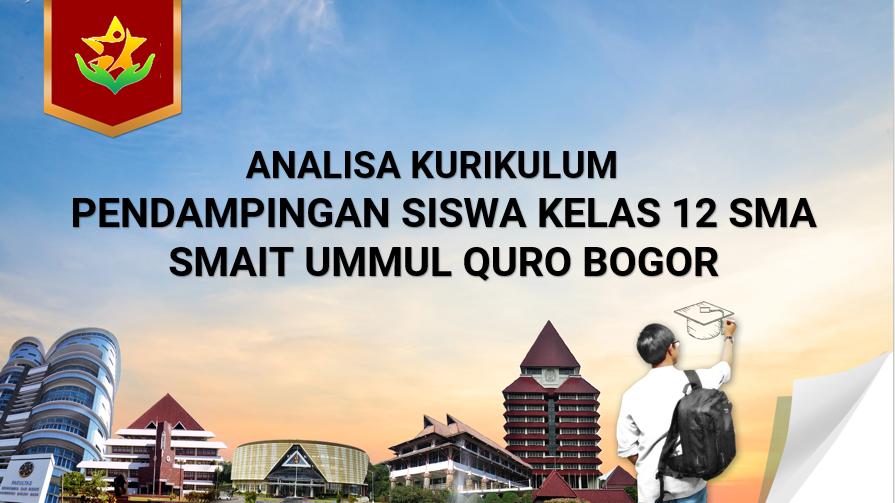Analisa Kurikulum SMAIT Ummul Quro TP 2020/2021